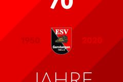 70 Jahre ESV Gerstungen