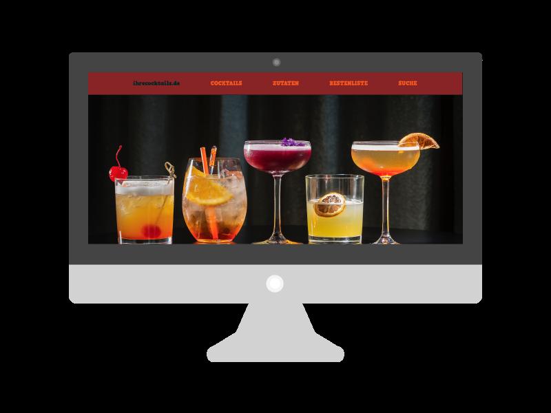 Cocktail-Website